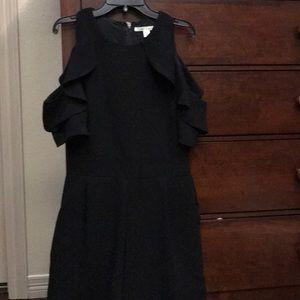 Black dressy romper S